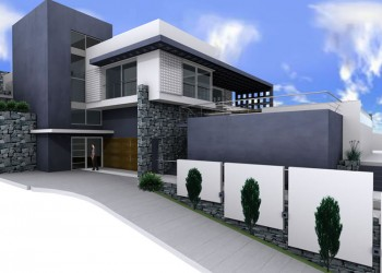 Proyecto vivienda nueva lateral