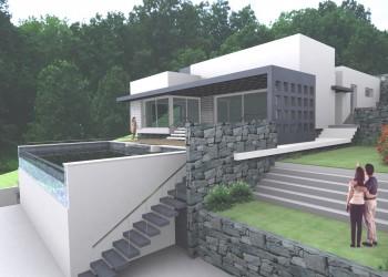 Proyecto vivienda nueva piscina